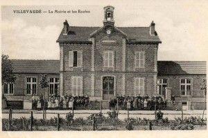 Mairie de Villevaudé vers 1920