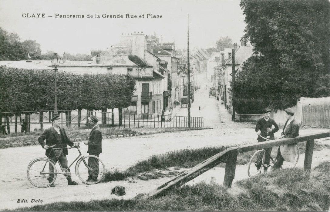 montée du pont vers 1907