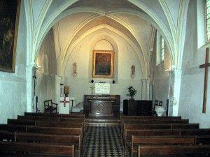 Intérieur de l'église Saint-Denis
