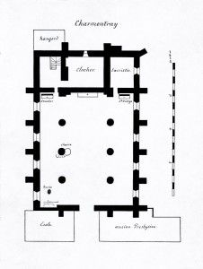 Plan église de Charmentray