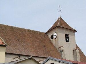 clocher de l'église St Médard