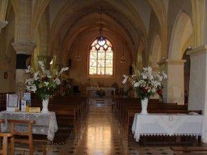 Intérieur de l'église en 2009