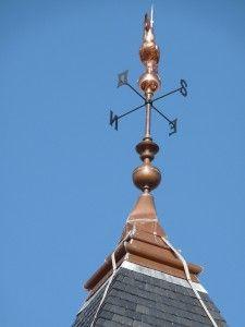 Le coq de l'église de Fresnes