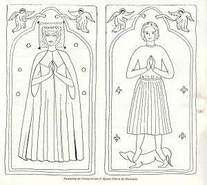 Eustachie de Gressy et Simon de Moisians