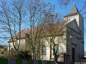 Eglise de Compans côté Sud