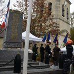 Commémorations du centenaire de l'armistice dans les environs de Claye