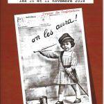 Dossier de l'exposition, au Pin, du Centenaire de l'armistice.